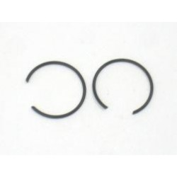 Piston pin circlips 17mm, set.