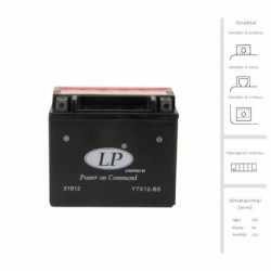 Battery (FULBAT, 10 Ah, 180...